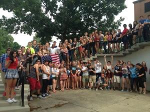 Exchange students 2014-2015